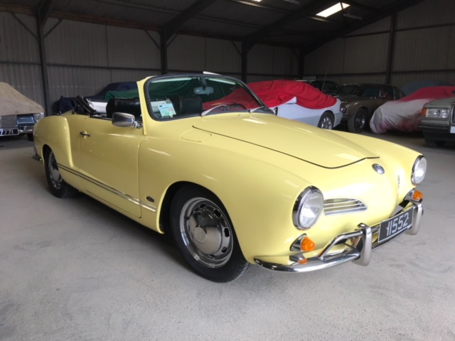 Karman Ghia Convertible chez Le Riche France