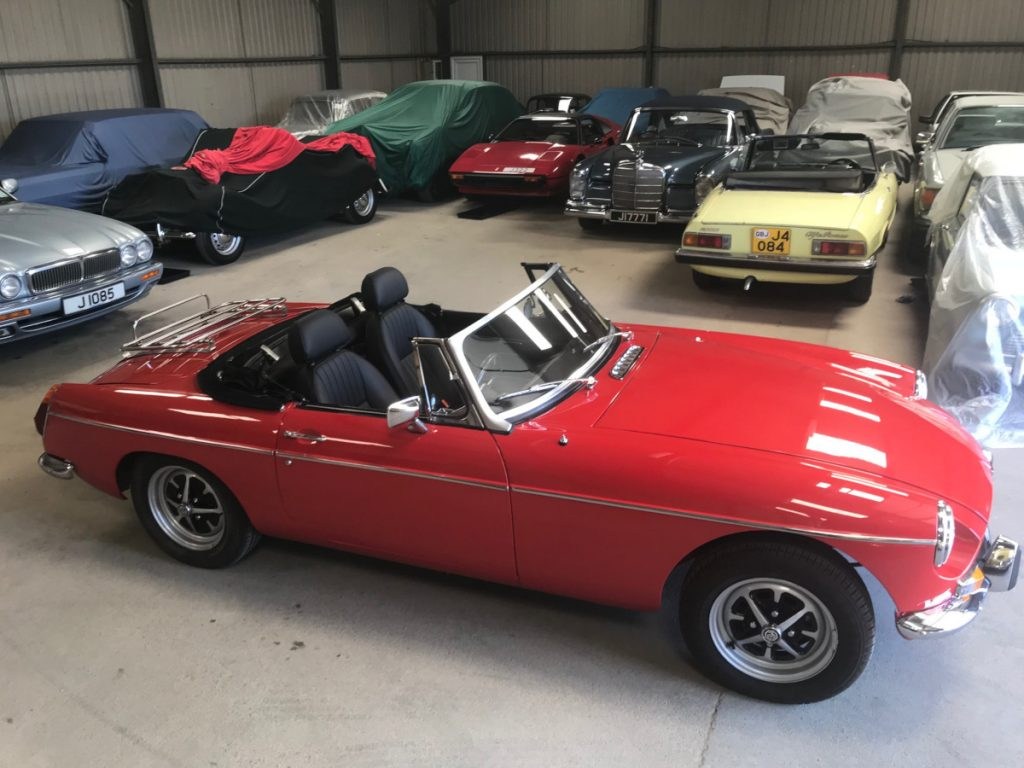 MGB Roadster 1972 - Le Riche France