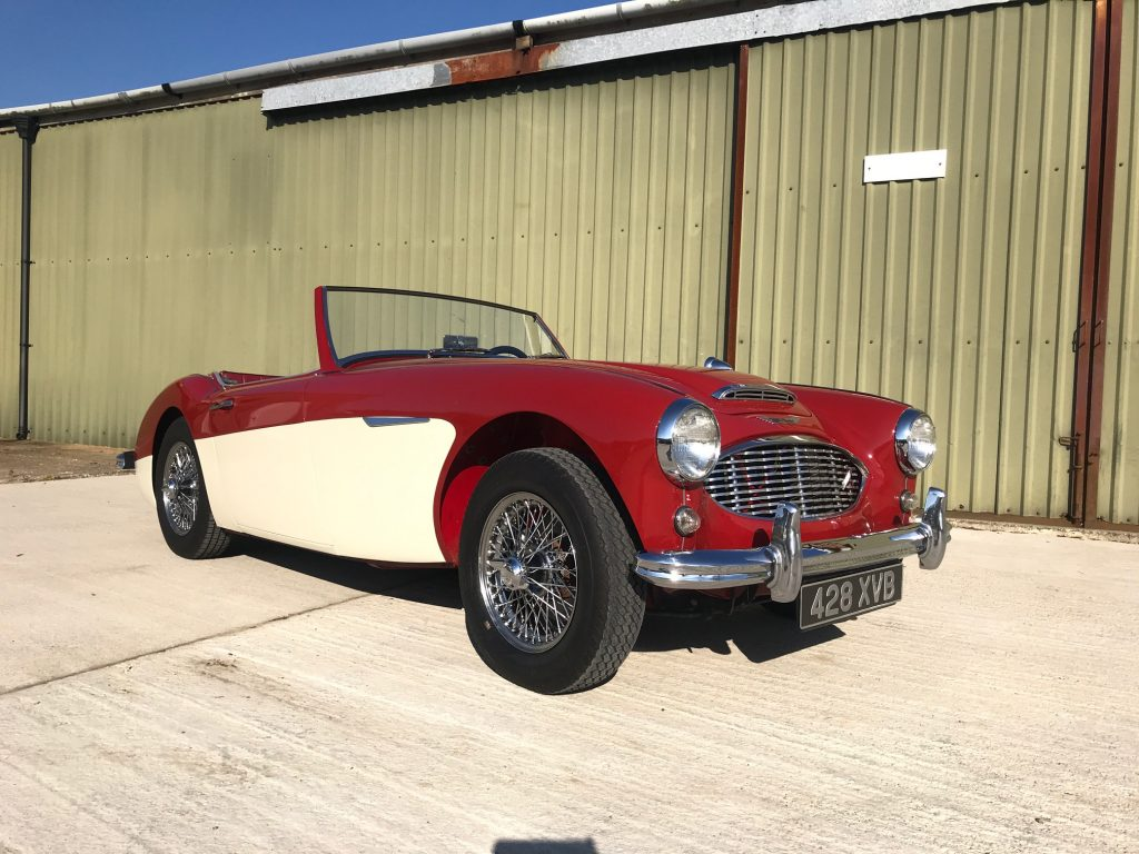 Austin Healey 3000 MK1, Le Riche France