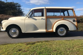 Le Riche France - Morris Minor Traveller