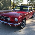 Ford Mustang V8 Convertible, Le Riche france